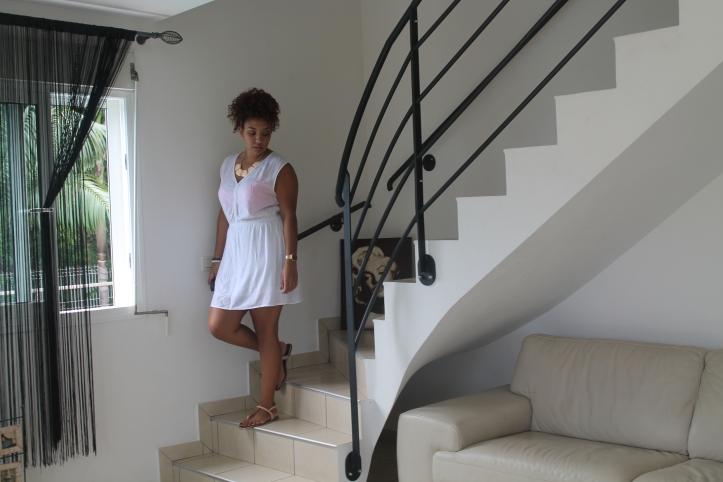 lookbook-blog-girl-fille-robe-blanc-île-réunion-974-sandales-nude