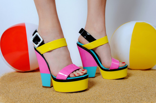5c3ogd-l-610x610-shoes-high+heels-color+block-pink-yellow-light+blue