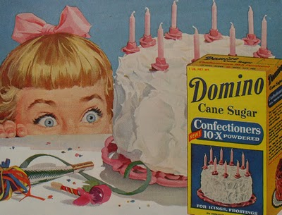 1950s-domino-sugar-vintage-illustration-birthday-cake-advertisement