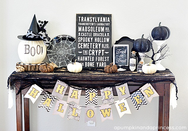 Table-Halloween-Decorations