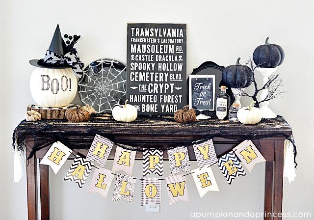 Table-Halloween-Decorations
